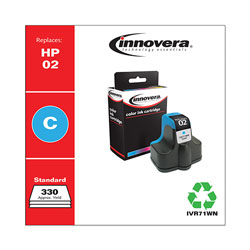 Innovera Remanufactured C8771WN (02) Ink, Cyan