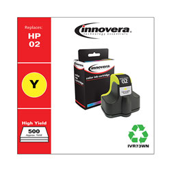 Innovera Remanufactured C8773WN (02) Ink, Yellow