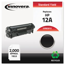 Innovera Laser Toner Cartridge, Hp 1010/1012, Black