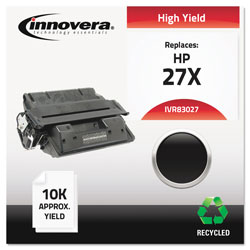 Innovera High-Yield Toner Cartridge For Hp Laserjet 4000, 4050 Series, Black, Remanufactu