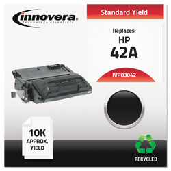 Innovera Laser Toner Cartridge, Hp Laserjet 4250/4350, Black, Remanufactured