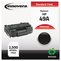 Innovera Laser Toner Cartridge, Hp Laserjet 1160/1320, Standard, Black, Remanufactured