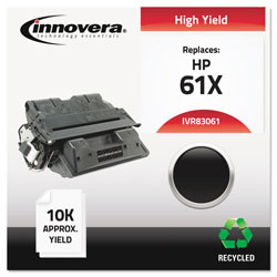 Innovera High-Yield Toner Cartridge For Hp Laserjet 4100 Series, Black, Remanufactured