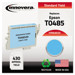 Innovera Remanufactured T048520 (48) Ink, Light Cyan