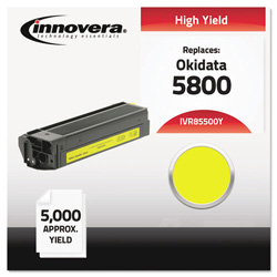Innovera Compatible 43324401 (5500) Toner, Yellow