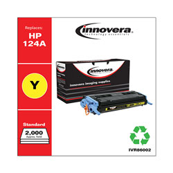 Innovera Remanufactured Q6002A (124A) Toner, Yellow