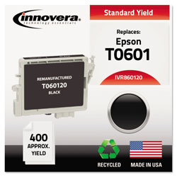 Innovera 860120 Black 60120 (T060120) Inkjet Cartridge, 450 Pages