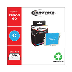 Innovera 860220 Cyan 60220 (T060220) Inkjet Cartridge, 450 Pages