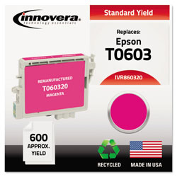 Innovera 860320 Magenta 60320 (T060320) Inkjet Cartridge, 450 Pages