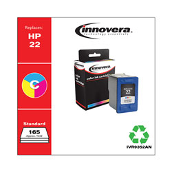 Innovera 9352An (C9352An, 22) Inkjet Cartridge, Tri-Color