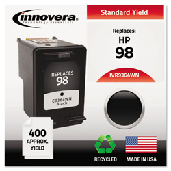 Innovera Remanufactured C9364A (98) High-Yield Ink, Black