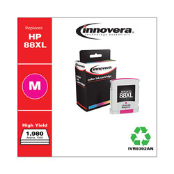 Innovera Remanufactured C9392AN (88XL) High-Yield Ink, Magenta