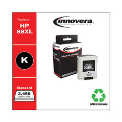 Innovera Remanufactured C9396AN (88XL) High-Yield Ink, Black
