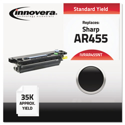 Innovera Compatible AR455NT High-Yield Toner, Black