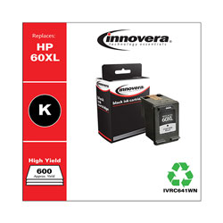 Innovera Remanufactured CC641WN (60XL) High-Yield Ink, Black