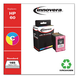 Innovera Remanufactured CC643WN (60) Ink, Tri-Color