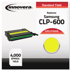 Innovera Compatible CLP-600 Toner, Yellow