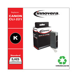 Innovera Remanufactured 2946B001 (CLI-221) Ink, Black