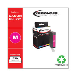 Innovera Remanufactured 2948B001 (CLI-221) Ink, Magenta