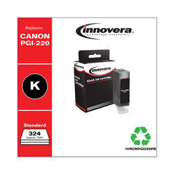 Innovera Remanufactured 2945B001 (PGI-220) Ink, Black