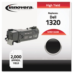 Innovera D1320B Compatible High-Yield Toner, 2,000 Page Yield, Black