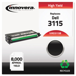 Innovera Remanufactured 310-8395 (3115) High-Yield Toner, Black