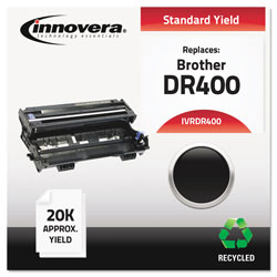 Innovera Black Drum Cartridge for Brother Copiers Dcp-1200, 1400, MFC-P2500