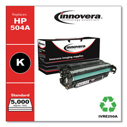 Innovera Remanufactured CE250A (504A) Toner, Black