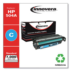 Innovera Remanufactured CE251A (504A) Toner, Cyan