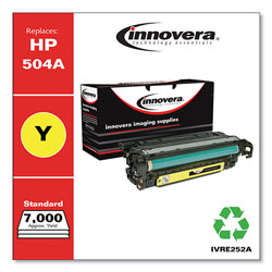 Innovera Remanufactured CE252A (504A) Toner, Yellow