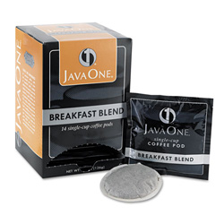 Java Trading Company Java One 30220 Single Cup Coffee Pods, Breakfast Blend