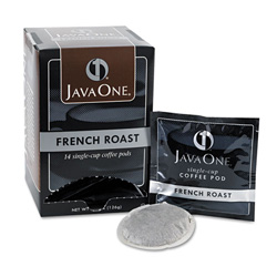 Java Trading Company Java One 30800 Single Cup Coffee Pods, French Roast