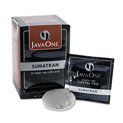 Java One™ 60000 Single Cup Coffee Pods, Sumatra Mandheling