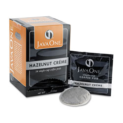 Java One™ 70500 Single Cup Coffee Pods, Hazelnut Creme