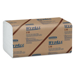 WypAll® L10 SANI-PREP S-Fold Dairy Towels, 10 1/2 x 9 3/10, 200/Pack, 12 Packs/Carton