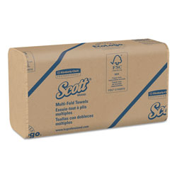 Kimberly-Clark 01801 100% Recycled Fiber Bulk Multifold Towels