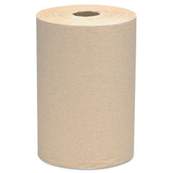 "Scott® Recycled Hard Roll Towels, Brown, 1-Ply, 8"" x 800 ft"