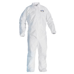 Kleenguard® A40 Elastic-Cuff Coveralls, White, 2X-Large, 25/Case