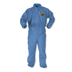 Kleenguard® A60 Elastic-Cuff & Back Coveralls, Blue, 2X-Large, 24/Case