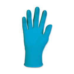 Kleenguard® G10 Blue Nitrile Gloves, Powder-Free, Blue, Medium, 100/Box