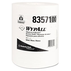 WypAll® Wipes In A Bucket Cleaning Wipes, White, 3 Packs of 220