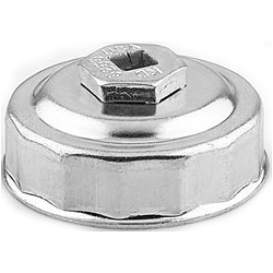 "Gearwrench 65 mm End Cap Oil Filter Wrench, 3/8"" Drive"