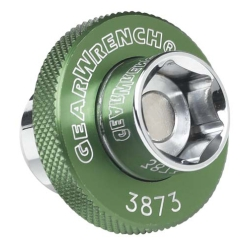 Gearwrench Magnetic Oil Drain Plug Socket - 14mm Green