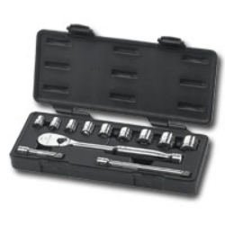 "Gearwrench 12 Piece 3/8"" Drive SAE 6 Point Socket Set"