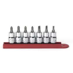 Gearwrench 7 Piece Screwdriver Bit Socket Set