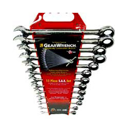 Gearwrench 13 Piece SAE Master Combination Gear Wrench Set