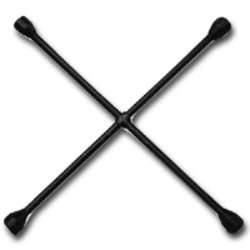 Ken-Tool NutBusters Four Way Lug Wrench - 20""