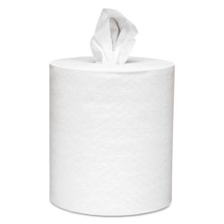 Kimberly-Clark 01051 White Centerpull 1 Ply Perforated Paper Towels