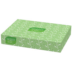 Kimberly-Clark Surpass 2-Ply 10% Recycled Facial Tissue, 12 Boxes of 100