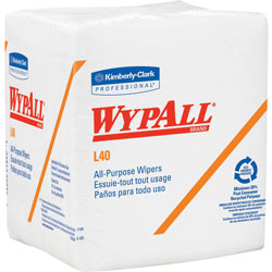 WypAll® Cleaning Wipes, White, Pack of 56